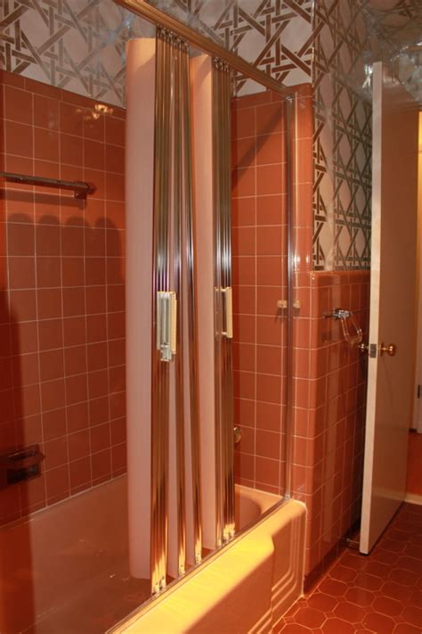 accordion door for bathroom 10 vintage shower doors help answer what kind of shower