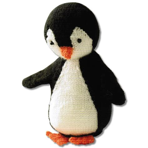 how to knit a penguin knit your own penguin kit crafty arts from craftyarts co