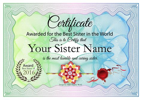 the crowds award amazon best sellers shop now our most buy raksha bandhan gift certificate award for best sister