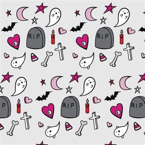 pattern pastel goth halloween pattern background tumblr theprouddaydreamer
