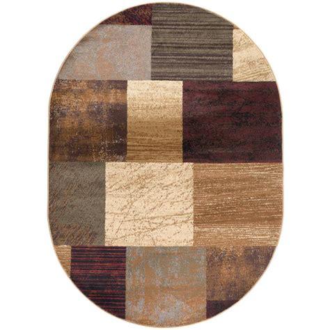 10 5 x 10 5 ft rug tayse rugs elegance multi 7 ft x 10 ft oval indoor area