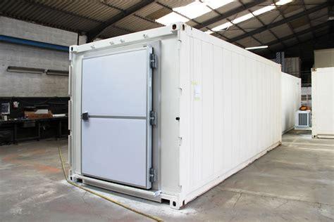 porte containers porte frigorifique avec barre anti panique containers