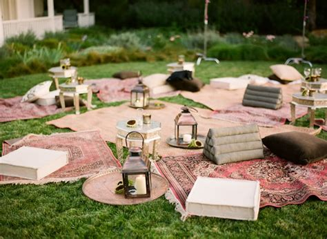backyard picnic ideas a garden wedding arabia weddings