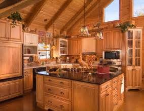 home interior kitchen cook up a classic kitchen in your log home
