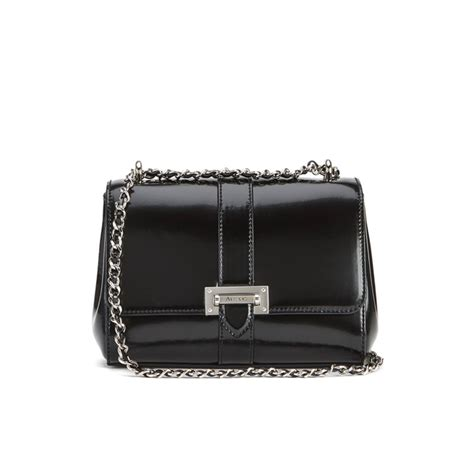 Other Designers Purse Deal Calvin Klein Textured Calf Shoulder Tote by Aspinal Of S Lottie Bag Black
