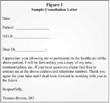 thank you letter to doctor office osteopathic manipulative treatment correctly coding for