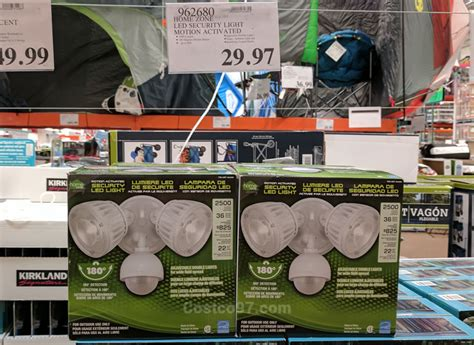 home zone led security light costco97
