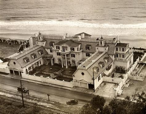 Aerial View Of Ocean House The Beach Home Of Marion Marion Davies House