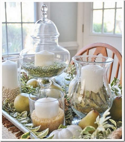 Pumpkin Vase Filler by White Pumpkin Centerpieces For Thanksgiving Stylish