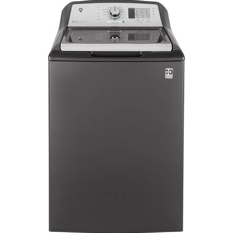 Softener Rosklin gtw680bpldg ge 4 6 cu ft capacity washer with stainless steel basket gray manuel