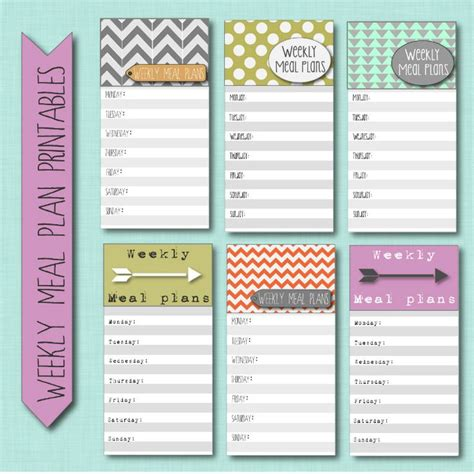 pinterest printable meal planner meal plan printable printables and prints pinterest