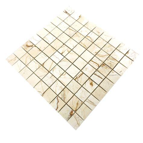 Naturstein Fliesen Polieren by Marmor Mosaik Fliesen Golden Poliert Tm33470