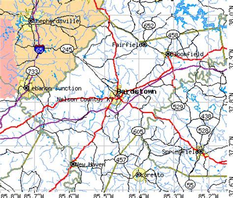 Nelson County Property Records Nelson County Kentucky Detailed Profile Houses Real Estate Cost Of Living Wages