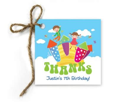 Bounce Gift Card - bounce gift tags