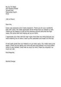 c thankyou letter myportfolio schools