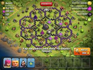Best Defense Base Model For Th8 In Clash Of Clans » Home Design 2017