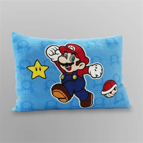 super mario pillowcase nintendo plush pillow