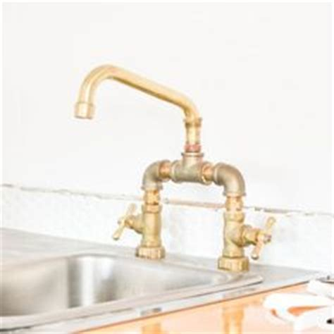 fitting your own bathroom diy faucet with copper pipes and brass fittings