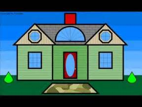 shape house learn shapes and build a play house for children