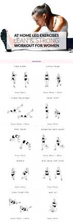 at home leg exercises for
