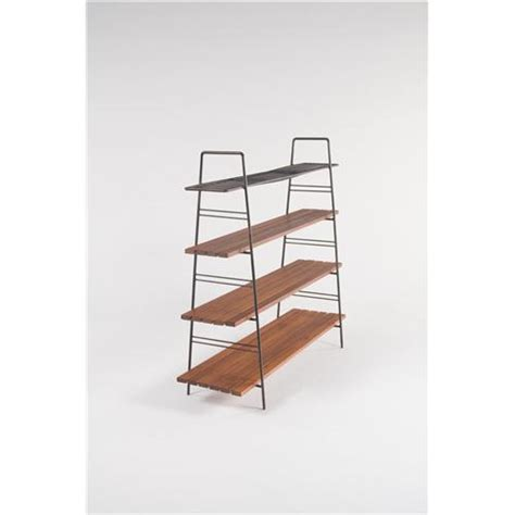 wrought iron bookcase furniture luther conover attributed wrought iron bookcase