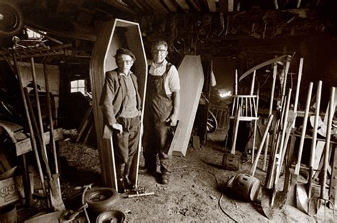 Coffin Maker photo essay dreams of the country america