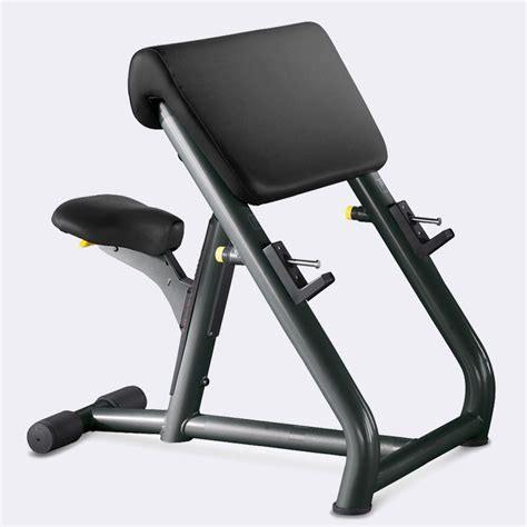 technogym bench element scott bicep barbell curl bench technogym