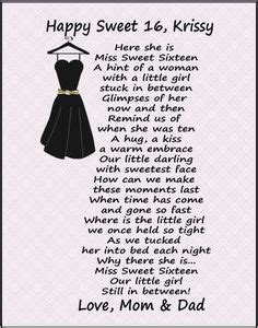 Sweet 16 Birthday Quotes For 1000 Images About Happy Sweet Sixteen My Beautiful