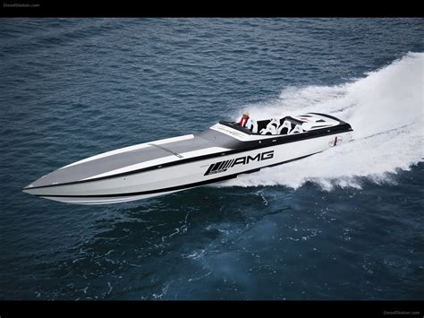black yacht wallpaper mercedes black series 50 marauder cigarette boat exotic