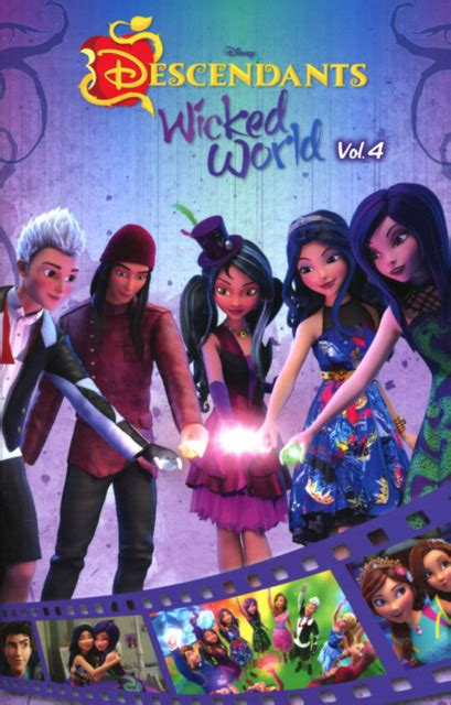 disney descendants the rotten to the trilogy volume 3 disney descendants books disney descendants 3 world issue