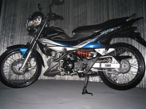 modifikasi kawasaki athlete 125 cc r 2009 hi rider