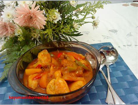 Bahan Ruby Putih Hijau 01 kayumaniskorner563 ayam masak merah
