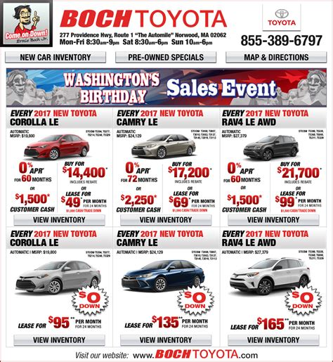 Boch Toyota Boch Toyota On The Automile In Norwood Ma