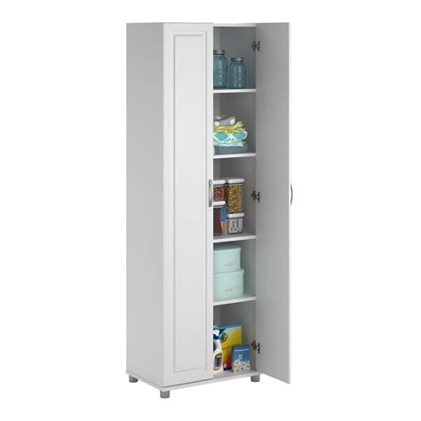 System Build Cabinets by Systembuild 24 Quot White Aquaseal Storage Cabinet Ebay