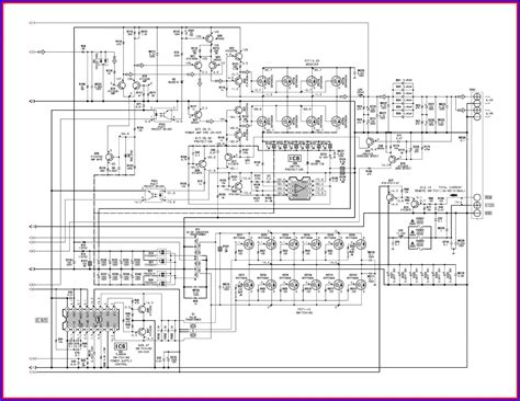 power audio amplifier circuit diagram power sendb