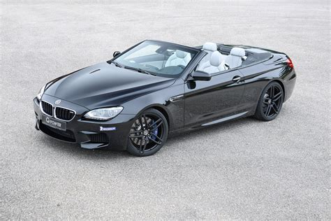 bmw m6 drop top drop the top and up the power with the g power m6