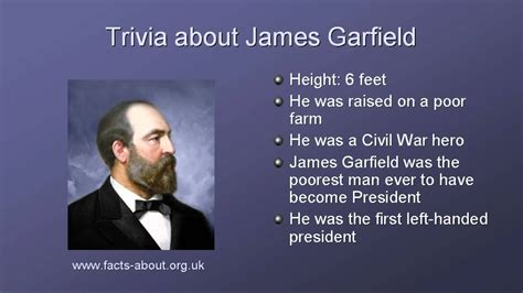 biography facts president james garfield biography youtube