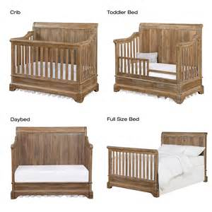baby beds bertini pembrooke 4 in 1 convertible crib rustic