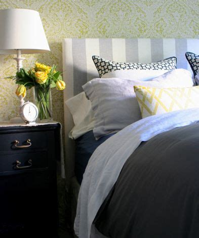 navy grey and yellow bedroom 1000 images about bedroom decor on chevron