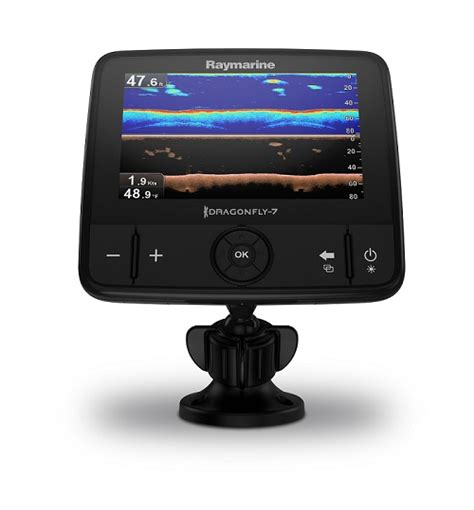 Finder Us Raymarine Dragonfly 7 Pro Fishfinder With Us C Map Charts