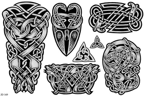 scottish tribal tattoo designs celtic tribal design dtattoos models picture