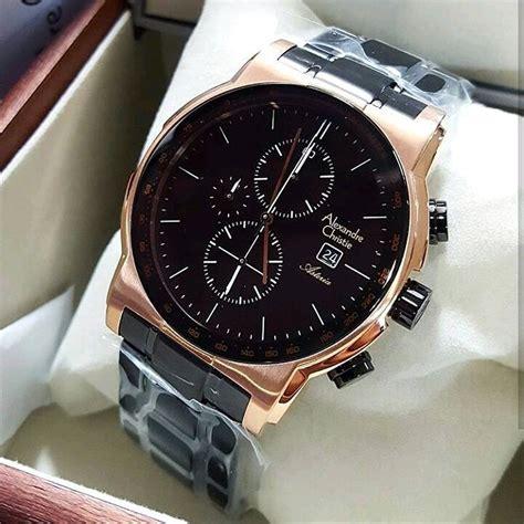 jual jam tangan keren elegant pria alexandre christie ac