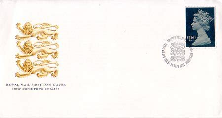 Gb New High Value Definitive 17 Sept 1985 Fd Cover high value definitive 1987 collect gb sts