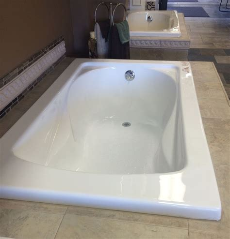 drop in soaker bathtubs carver tubs sr6036 60 quot x 36 quot white soaker tub standard