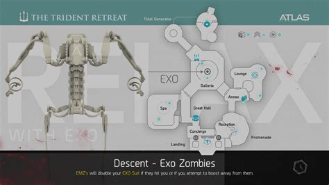 exo zombies descent map descent loading screen codaw