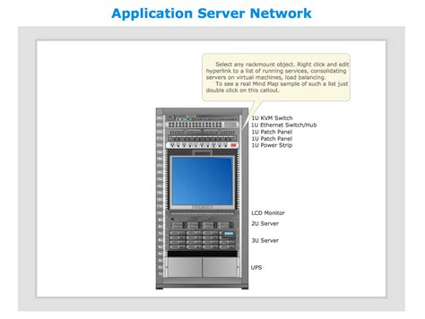 server rack diagram software conceptdraw sles computer and networks computer