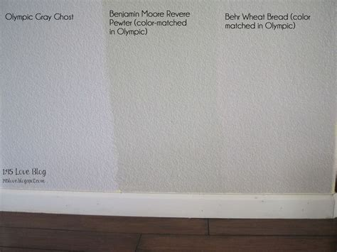 no flash greige paint wall swatches olympic gray ghost benjamin revere pewter behr