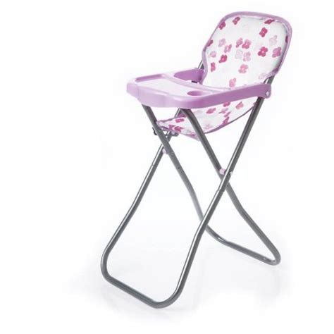 High Chair Toy Manhattan Toy Baby Stella Doll Blissful Blooms High Chair