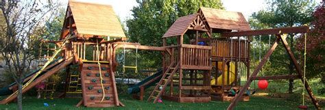 cedar summit lookout lodge swing set installer gorilla