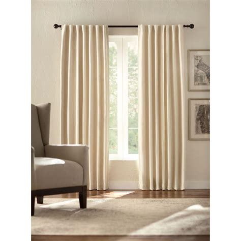 Solaris Outdoor Curtains Solaris Semi Opaque Room Darkening 95 In L Polyester Curtain Panel In 1634031 The Home